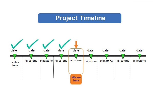 Project Timeline Template   Free Download For Word  Ppt  Pdf