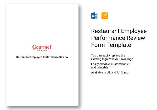 restaurant-employee-performance-review-form-template
