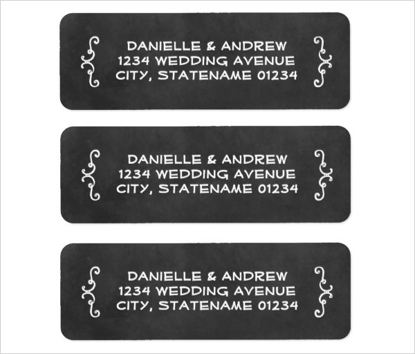 Return Address Label Templates