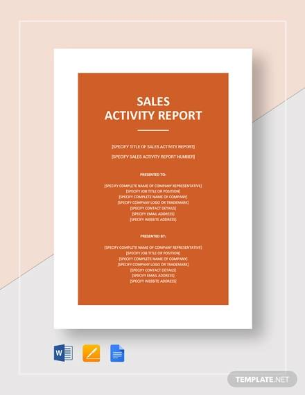 sales activity report1