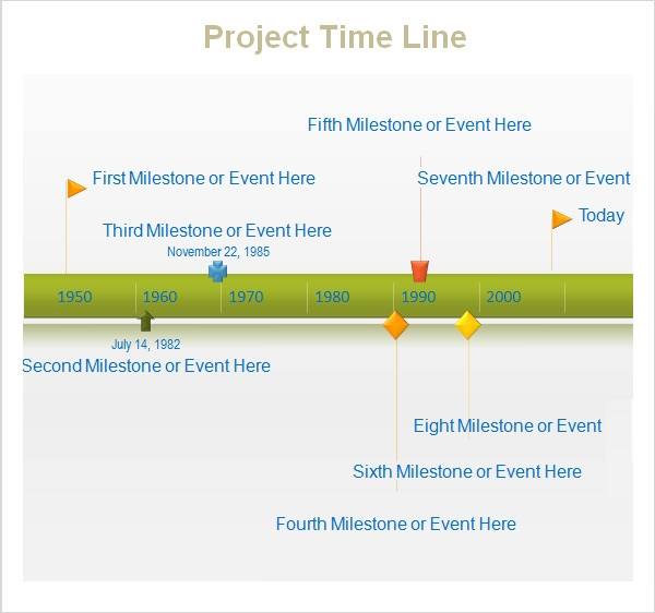 sample project time line template free download2