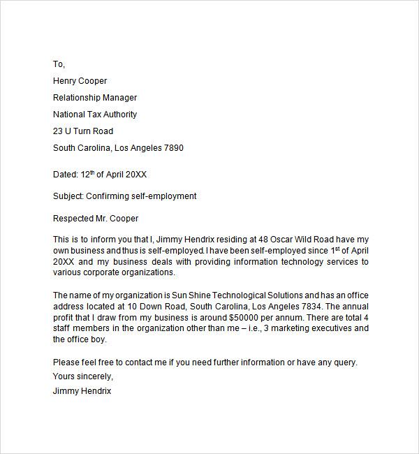 Unique bank verification letter