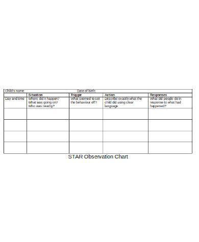 simple star chart