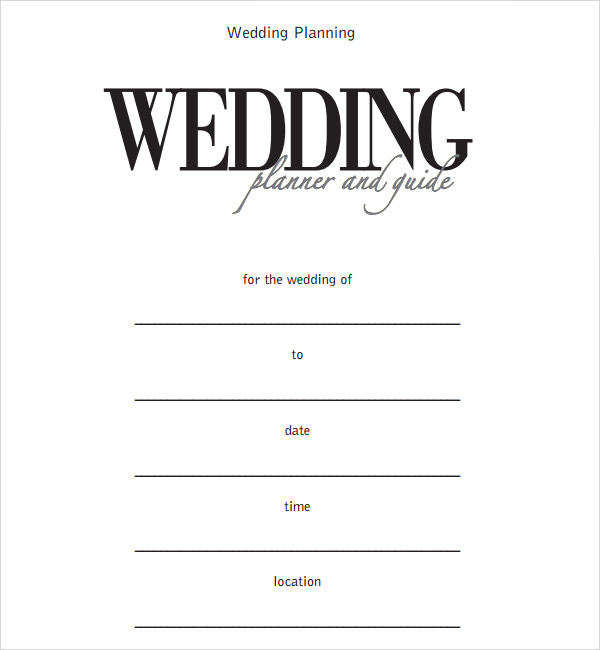 6 sample wedding timeline templates to download for free