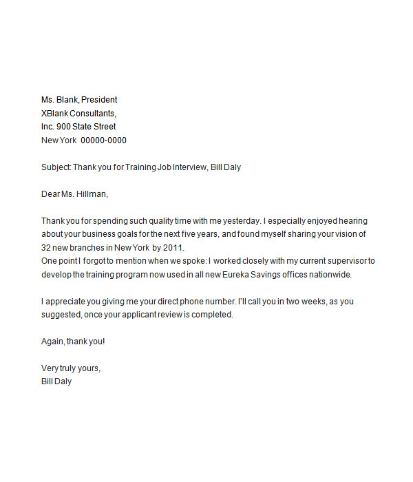 Resignation Letter Thank You – Sample Thank You Letter After Resignation