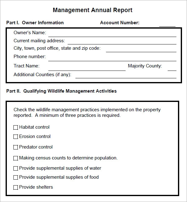 executive management report template .