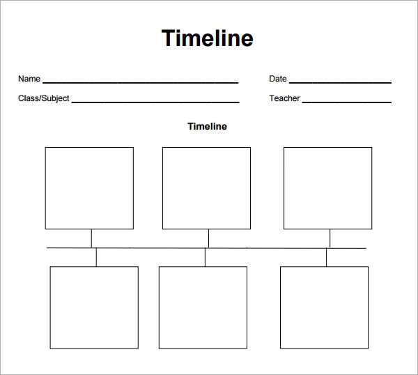 Timeline Template. Templates ~ Templates ~ Templates… For Almost