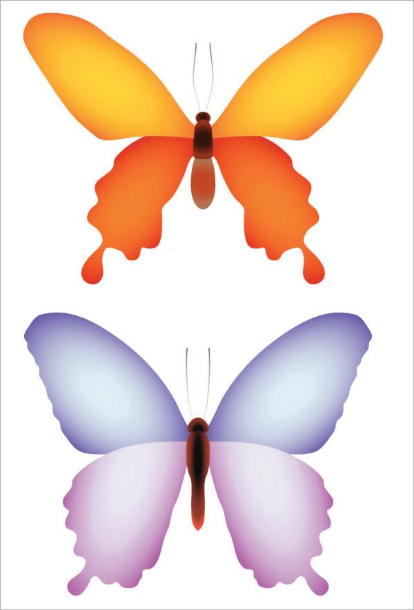 butterfly template for preschool