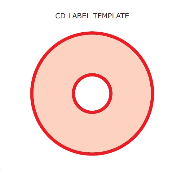 Sample Cd Label Template - 6 Premium And Free Download For Pdf