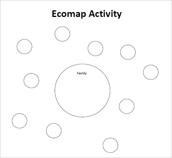 ecomaps social work template ecomap template 7 free pdf download