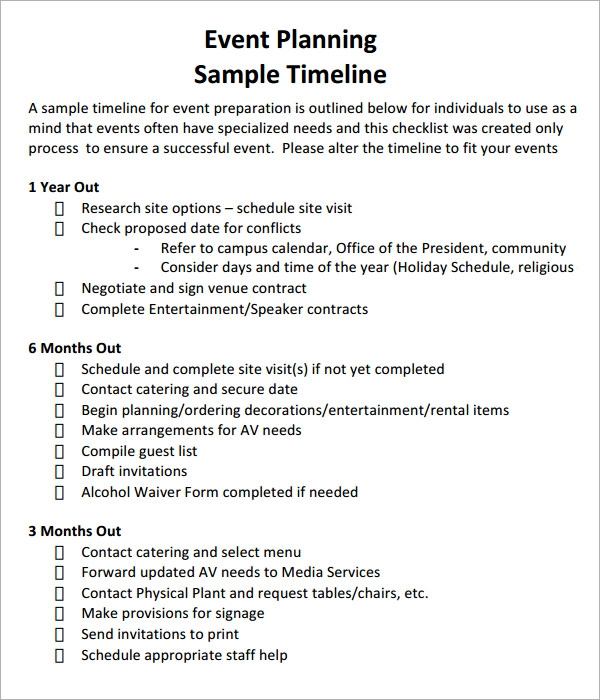 Event Timeline Template Free  Resume Ideas  NamanasaCom