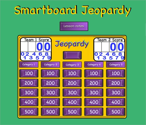 jeopardy games online for academic challenge