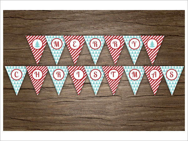 pennant banner pattern