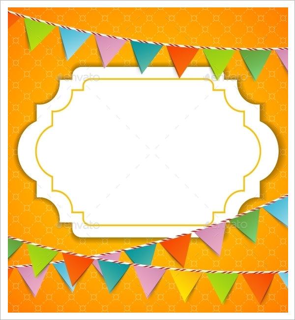 pennant banner sample