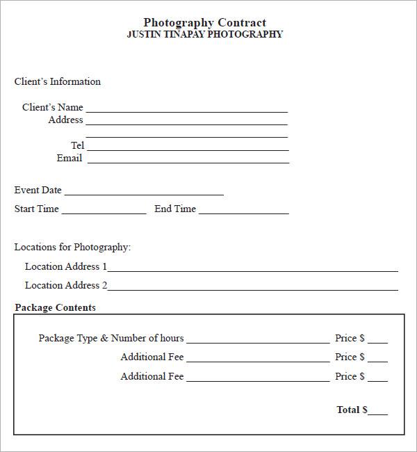 event coordinator contract template