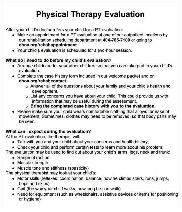 Physical therapy personal essay