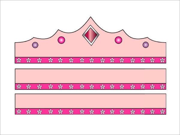 Juicy image pertaining to princess crown printable