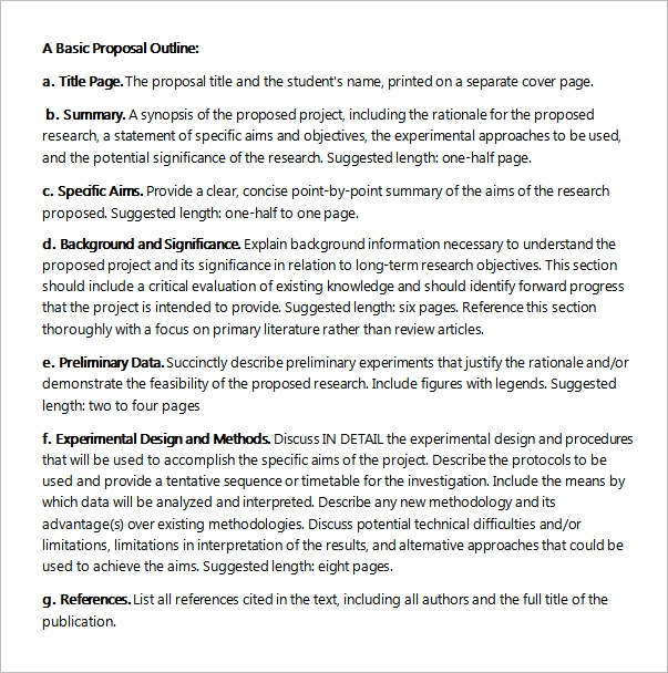 17 sample project proposal templates for free download sample project proposal outline maxwellsz