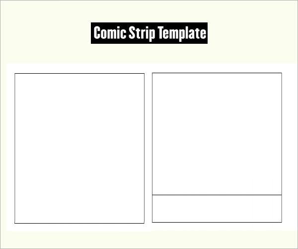Business plan comic strip