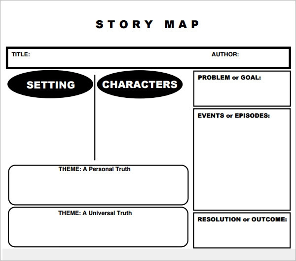 Story Map Template Free