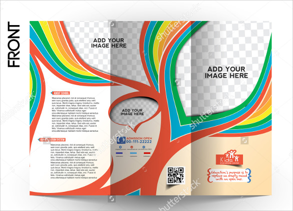 School Brochure Download In PSD Vector PDF Illustration - School brochure templates