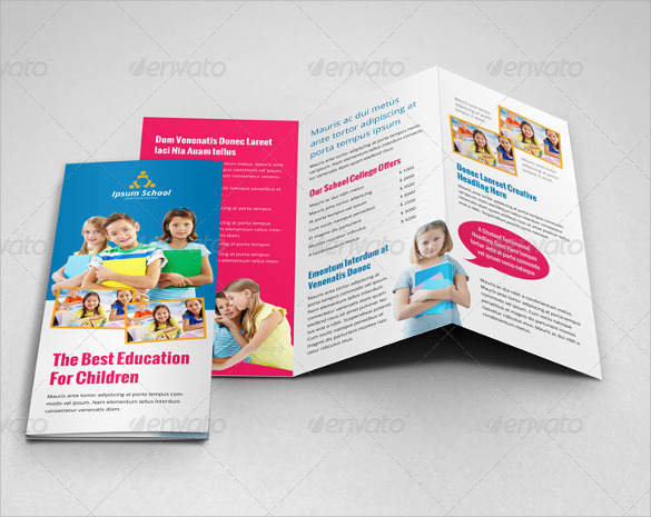 Best Free Brochure Templates Passionativeco - School brochure templates