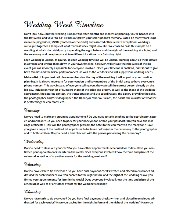 sample wedding timeline1
