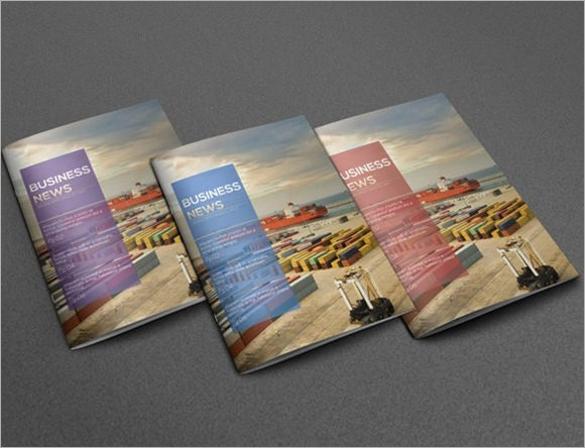 business newsletter format