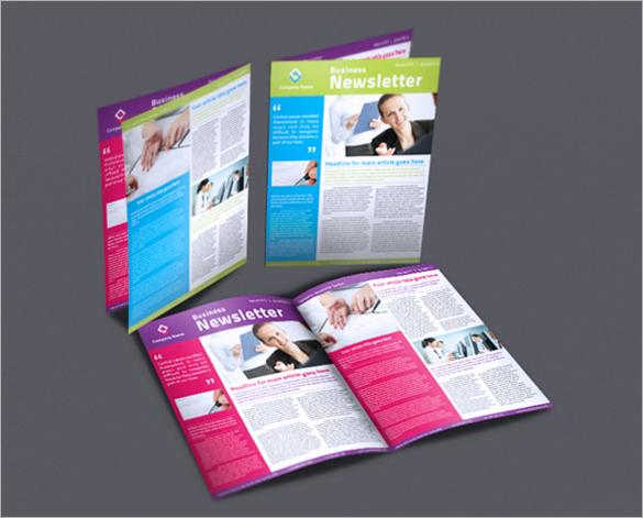 business newsletter topics