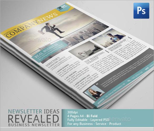 newsletter content sample