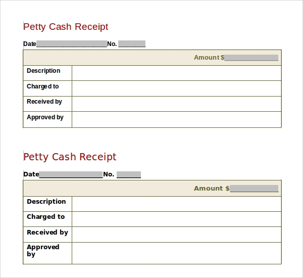 Sample Receipt Template 16 Free Documents in PDF Word Excel – Cash Receipt Template Doc