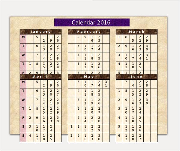 annual sample power point calendar template