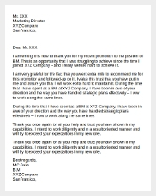 Sample Letter of Appreciation to Your Boss