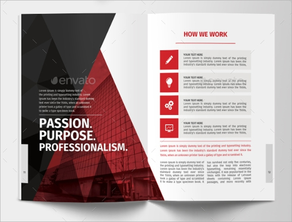 useful corporate brochure template