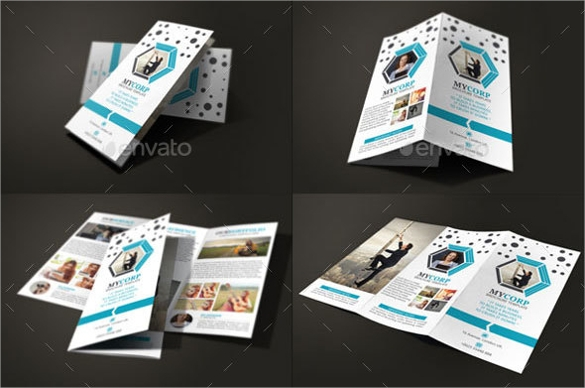 indesign corporate brochure template