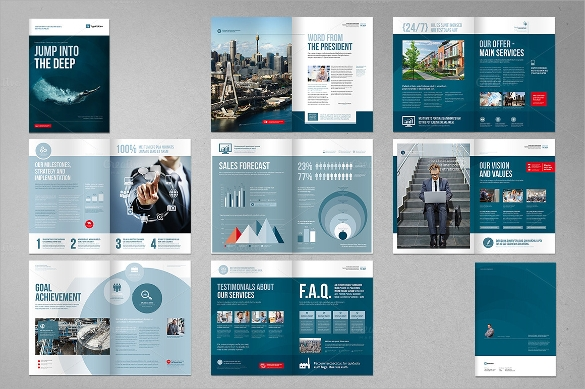 Corporate Brochure   Download In Vector Eps Psd