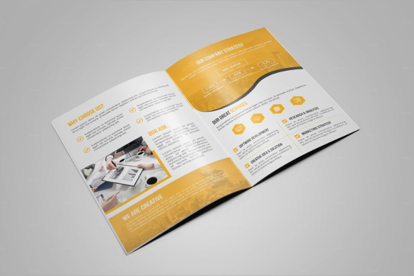 eps format corporate brochure template