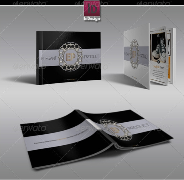 elegant product brochure