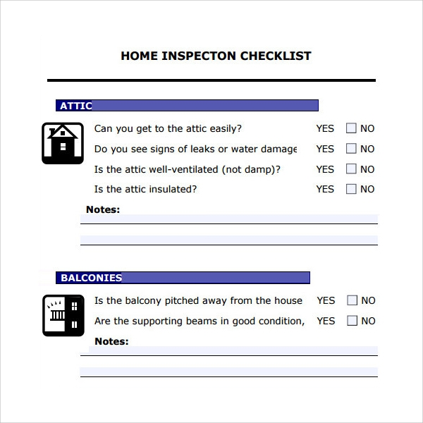 Home Inspection Checklist While You May Not Know What All Of These