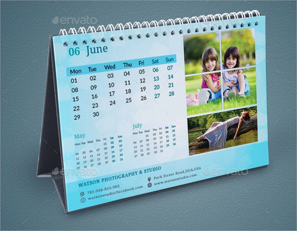 indesign calendar template