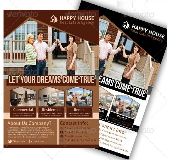 Sample Real Estate Newsletter Template 9 Download in PSD In Design – Real Estate Newsletter Template