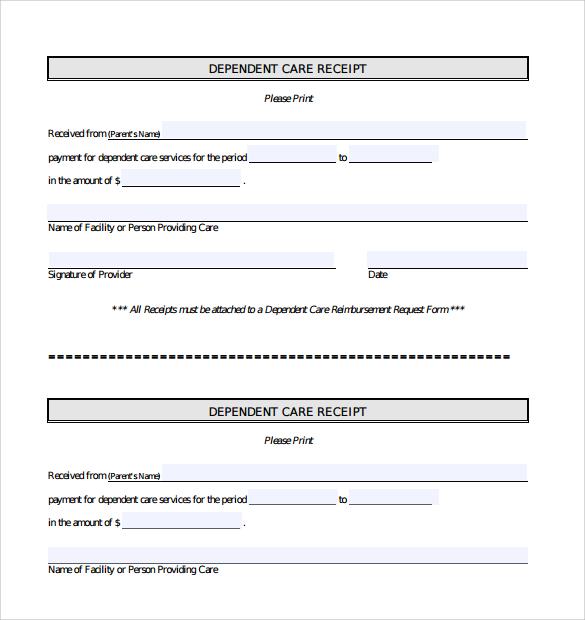 general receipt template