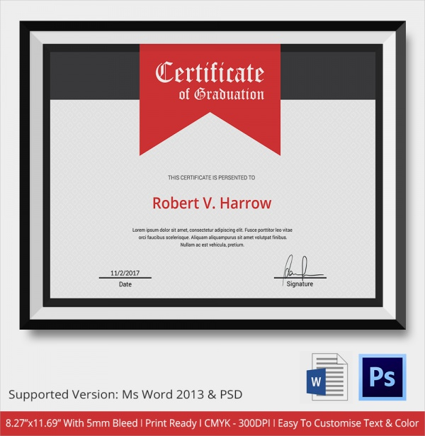 OfAppreciationTemplateWordPdfcertificates In Word Award