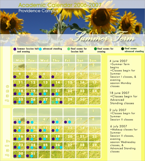 summer academic calendar1