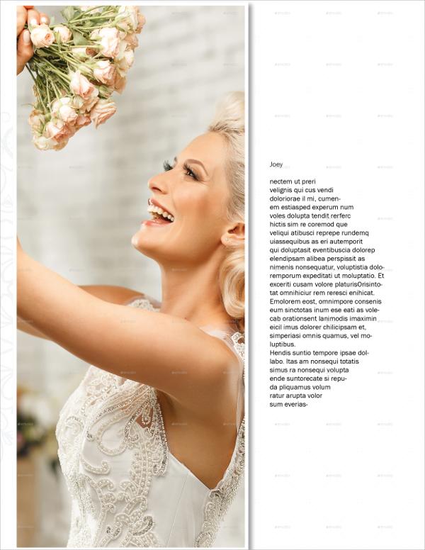amazing wedding brochure template