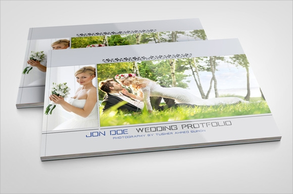 wedding portfolio brochure template