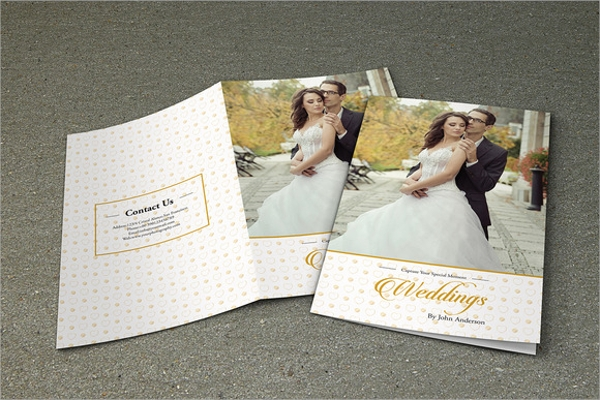 awesome wedding brochure template