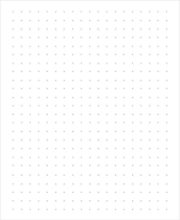 Sample Dot Paper 10 Documents in Word PDF – Microsoft Office Graph Paper