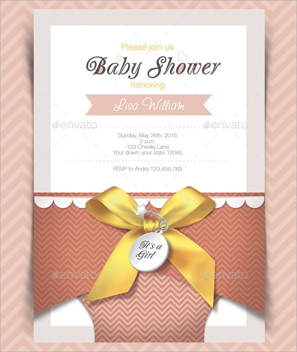 baby shower email invitation template