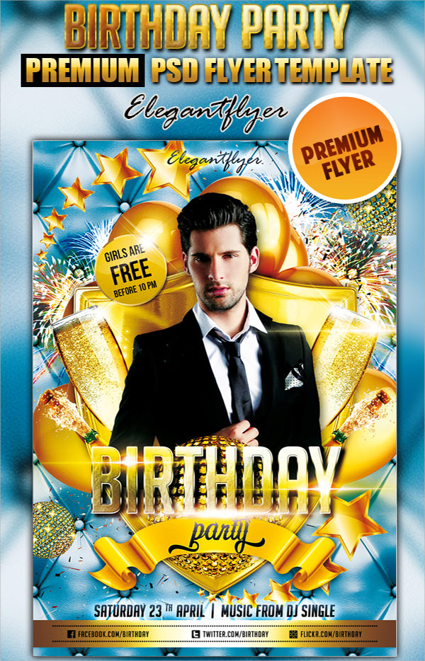 Birthday Flyer   Premium And Free Download